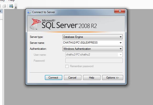 Download a standalone installer for management studio express.