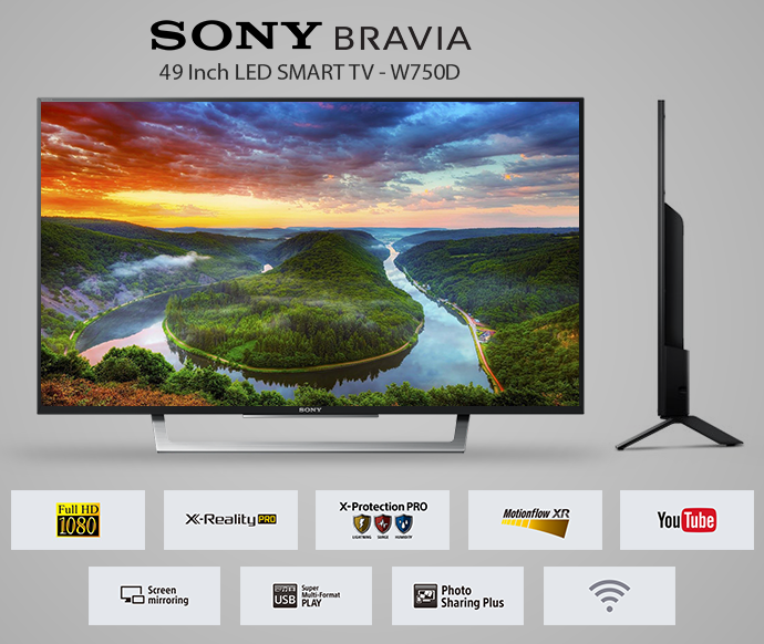 sony tv on sale. sony tv sale - 49 inch w750d special offer 1 year warranty 9797901 | ibay tv on sale