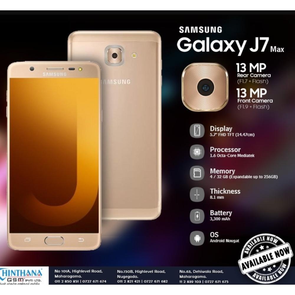 Samsung Galaxy J7 max 32GB/4G Brand new Original 9999214