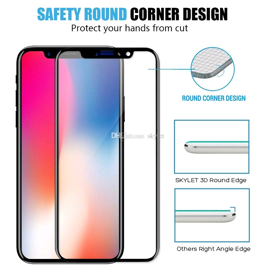 Iphone X high quality full TEMPERED GLASS SCREEN PROTECTOR. 7474636 ...