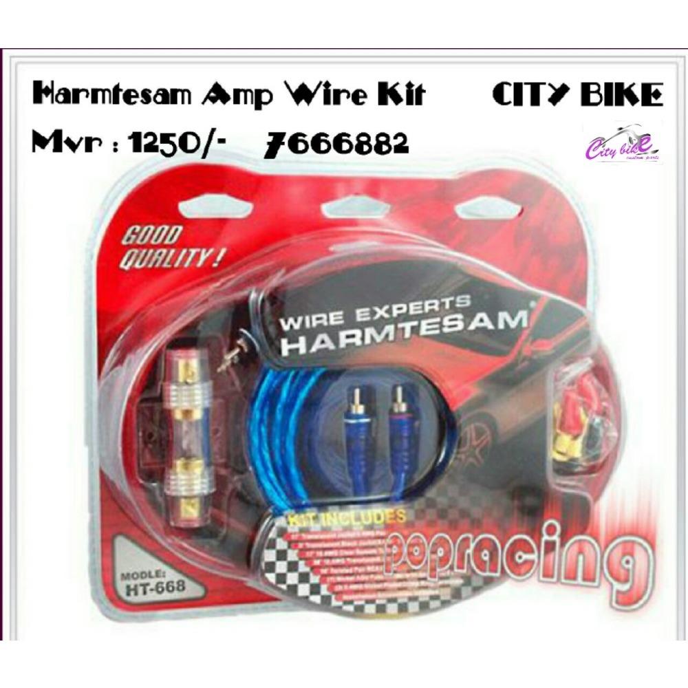 Harmtesamcar Audio Amplifier Wiring Kit Tube Amp Kitoriginal Ibay Car Installation Kits