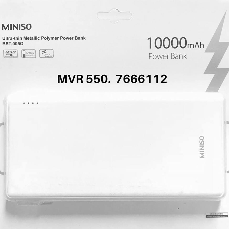 Miniso Power Banks Ibay Wk Design Powerbank Mirror 10000 Mah Home