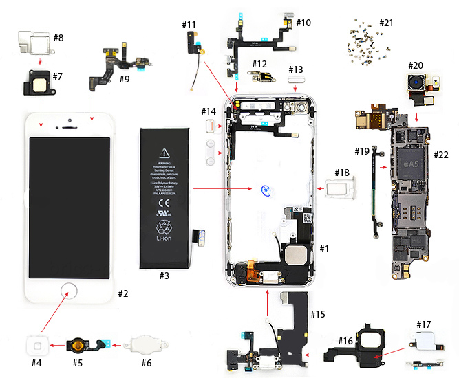 iphone 4s antenna wiring diagram iphone 4s schematic