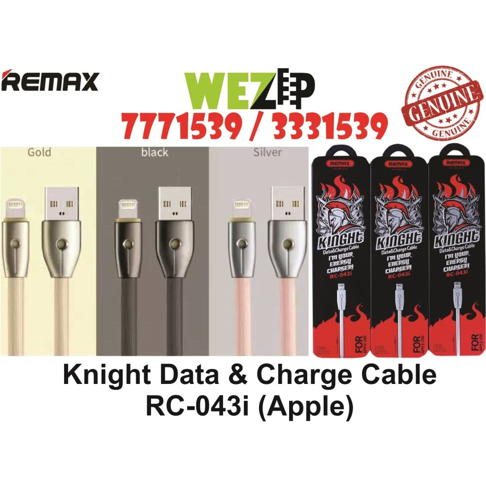 Remax Knight Apple Iphone Fast Charging Charge Data Cable Call Lightning Gold 7771539 Ibay