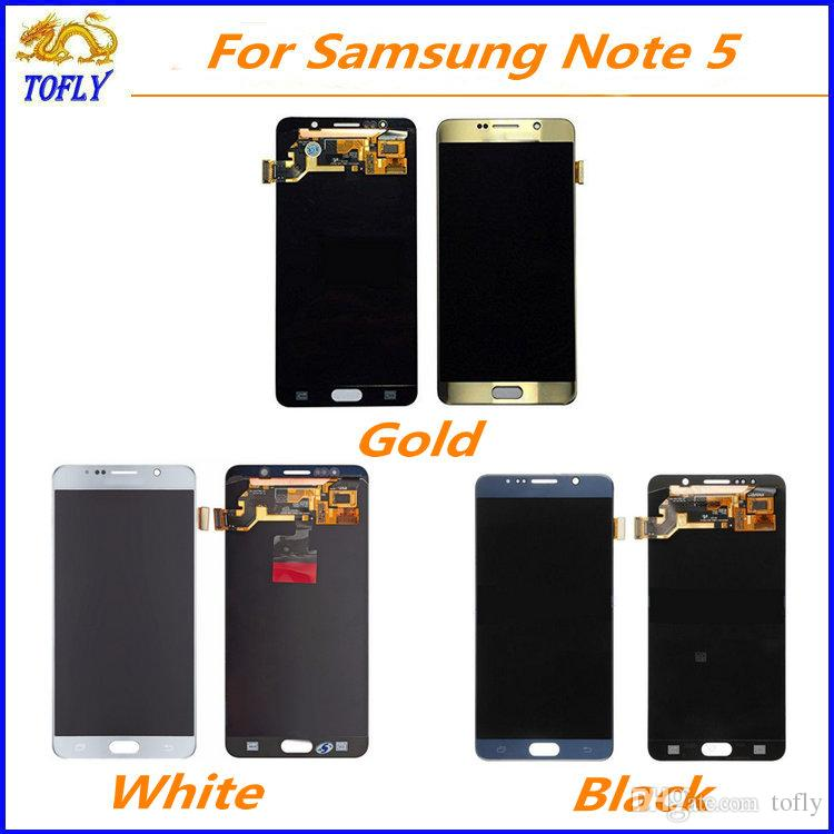 eaaaff18ffed48 SAMSUNG GALAXY NOTE 5 GENUINE LCD SCREEN WITH FREE FIX 7967868 | iBay
