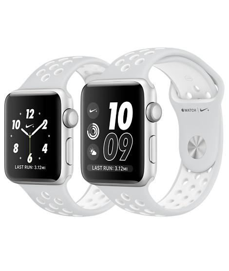 apple nike watch series 2. new apple watch series 2 nike sports band 42mm sliver 100% original 9961524 | ibay nike
