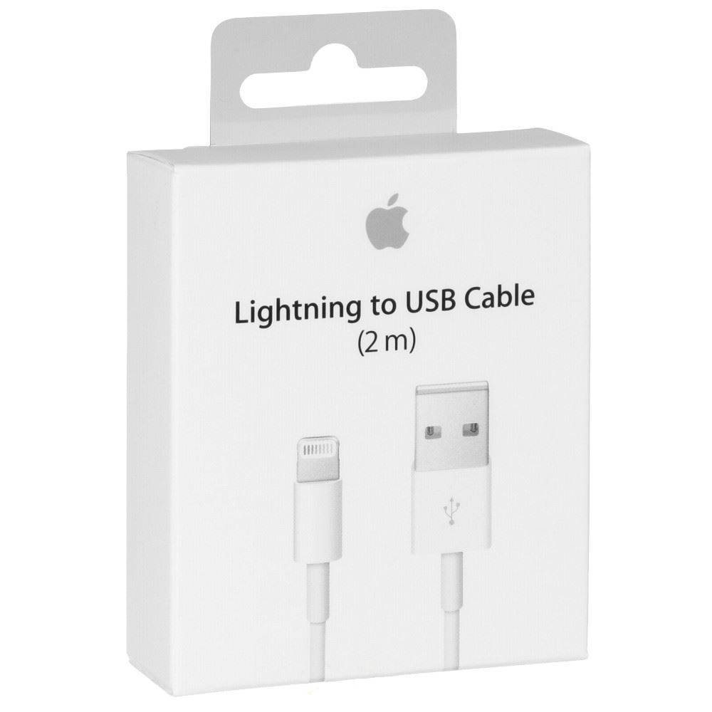 2 Meter Long Original Apple Lightning USB Data Cable for Iphone 5 6 6+ 7 7+   iBay  sc 1 st  iBay & 2 Meter Long Original Apple Lightning USB Data Cable for Iphone 5 ... azcodes.com
