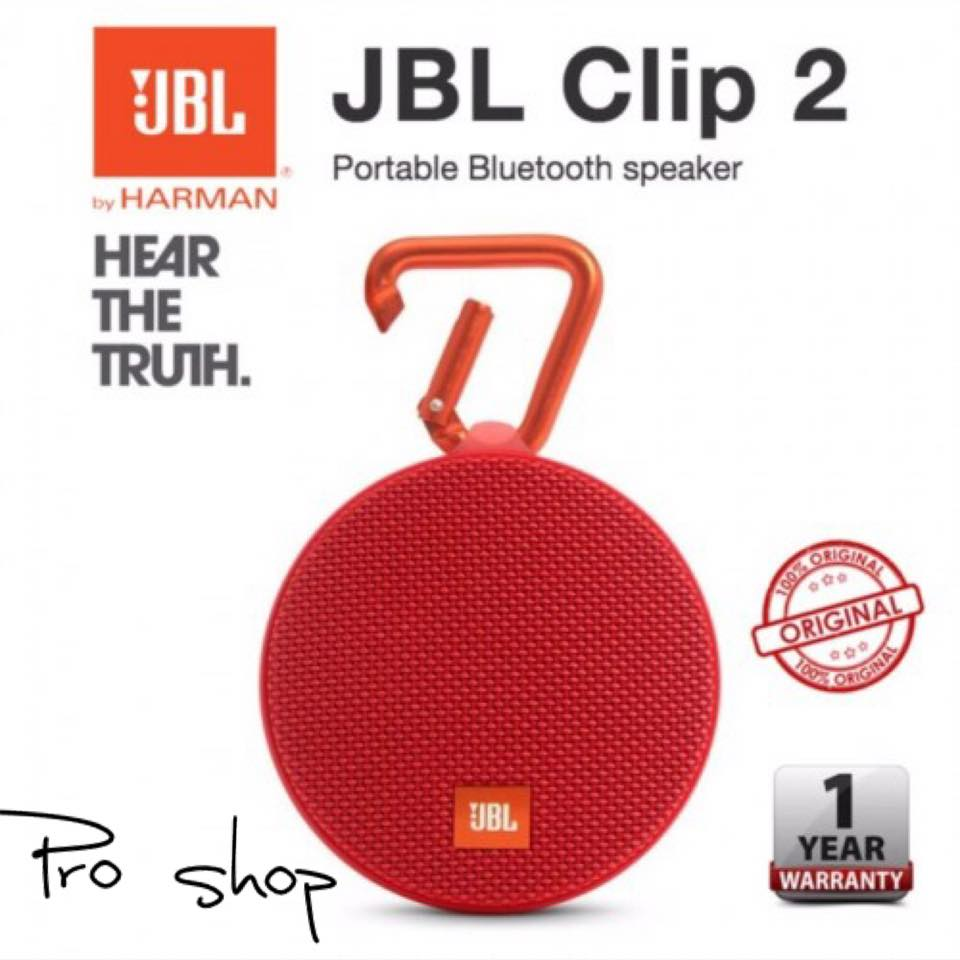 Original Factory Sealed Jbl Clip 2 Portable Wireess Speaker Ibay