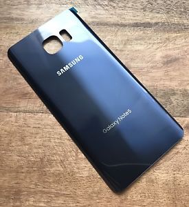 separation shoes 4c6f6 30741 samsung galaxy Note 5 back glass Blue replacement | iBay
