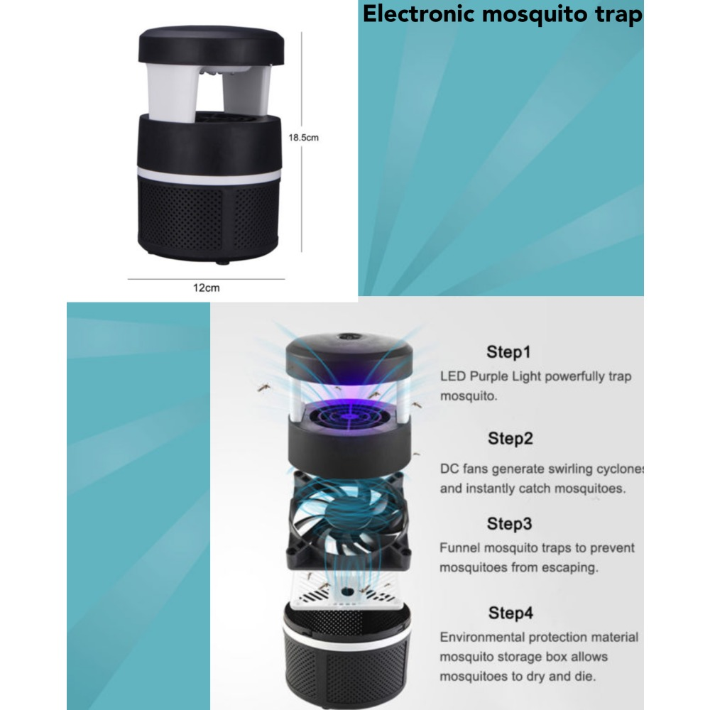 Electronic Mosquito Trap Ibay Swatter Electronics Hobby