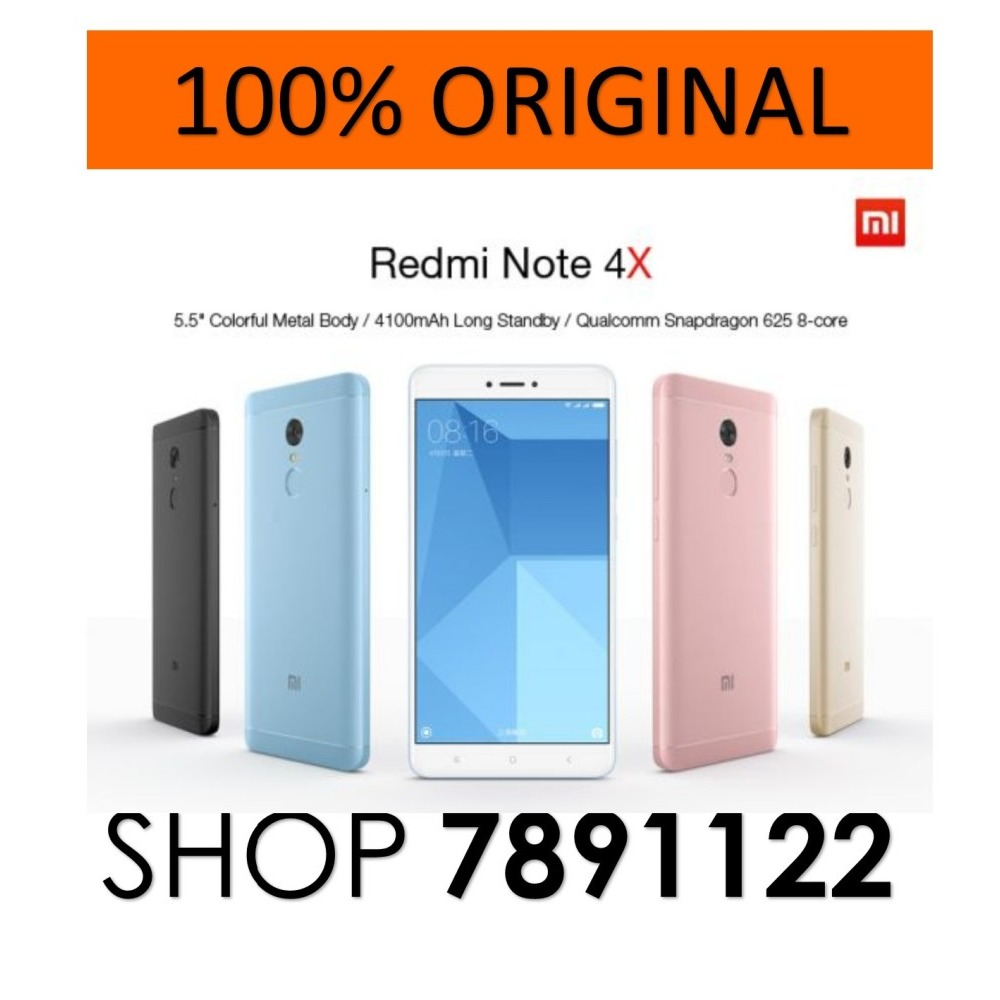 Jual Xiaomi Note 4g Lte Termurah 2018 Eastpak Padded Pakamp039r Backpack Merah Redmi 4x 64gb 4gb Ram Dual Sim Free Delivery Ibay