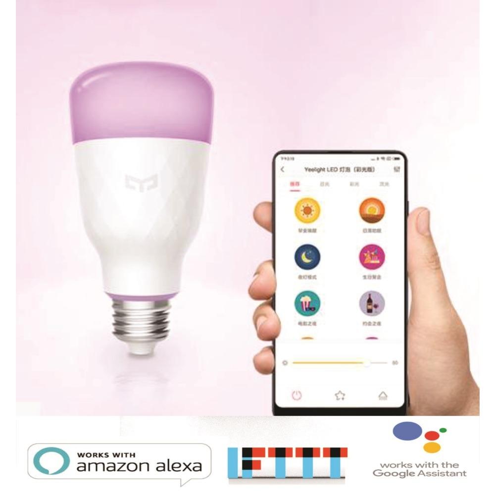 Original Xiaomi Mijia Yeelight Smart Led Bulb Colorful 800 Lumens Light 10w E27 Lemon Ibay