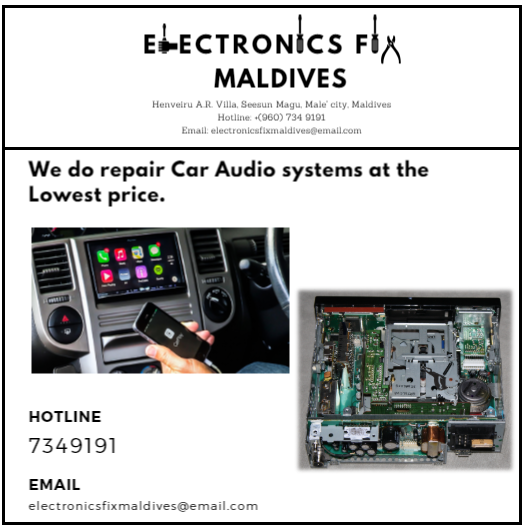 car audio system repair