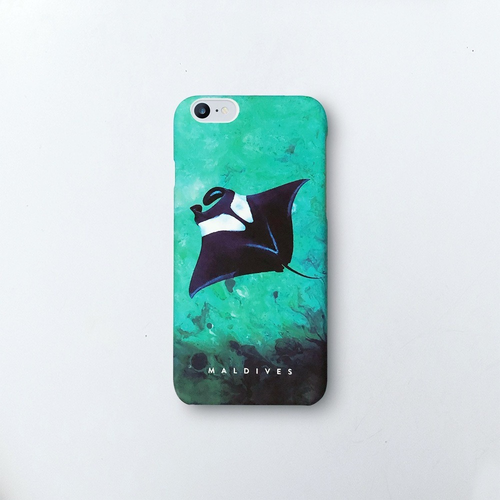 9696097] Manta Ray / Ocean Collection Art phone cover for