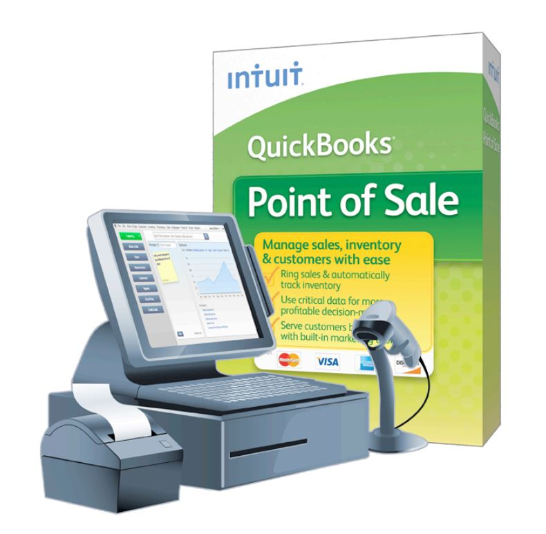 Quickbooks Point Of Sale Software - Call 7238953 | iBay