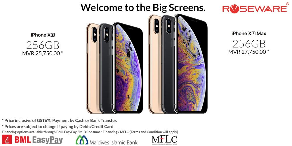 Apple iPhone XS & XS Max 256gb Brand new Factory Unlocked