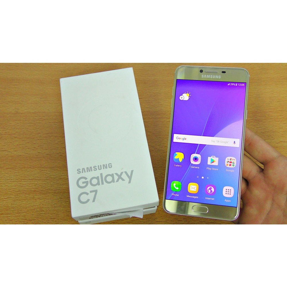c1e45a3c725c27 SAMSUNG GALAXY C7 BRAND NEW SEALED PACK FREE DELIVERY call7397377. Demo  version