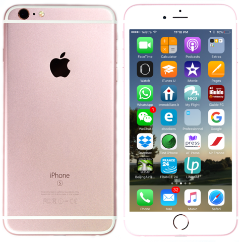 Brand New Original Sealed Box Iphone 6s Plus 64gb Rose Gold Call
