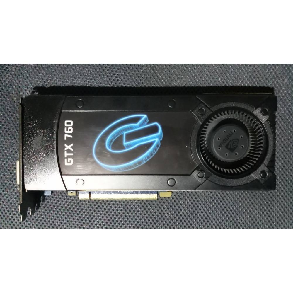 Galaxy Nvidia Geforce Gtx 760 2 Gb Ddr5 Graphics Card Ibay Ti