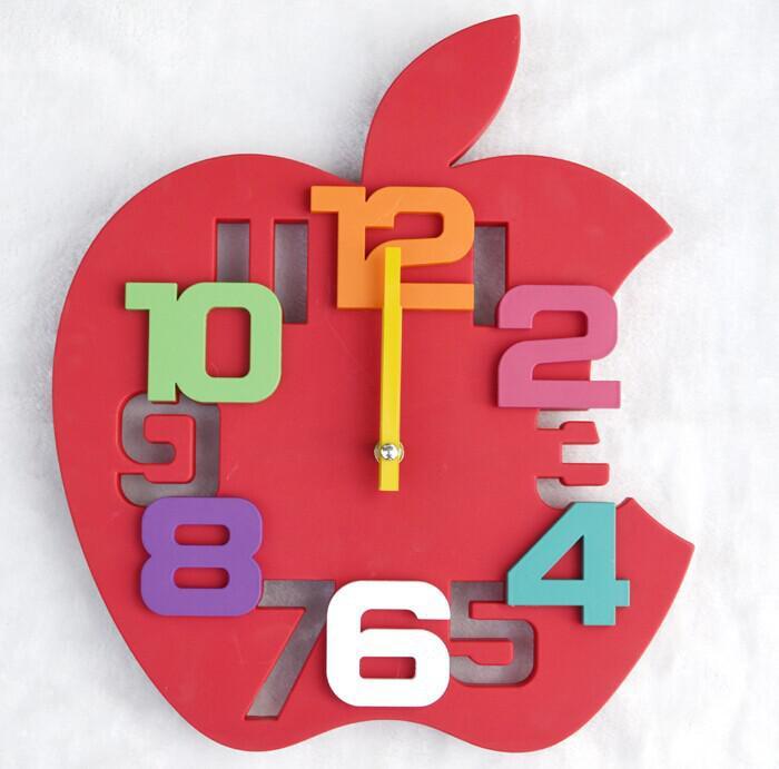 Simple Apple Wall Clock Call 7894900 Ibay
