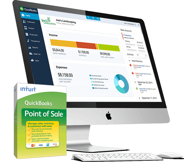 QuickBooks Desktop Accounts and Point of sales Free