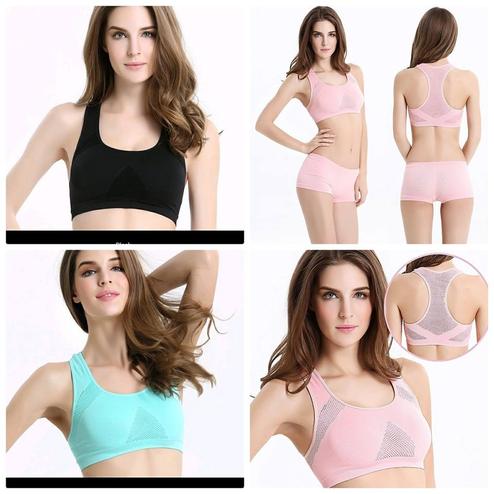 733efd047aa03 Sports Push Up Running Yoga Cotton Gym Wear Fitness Bra MVR 195 -. Report