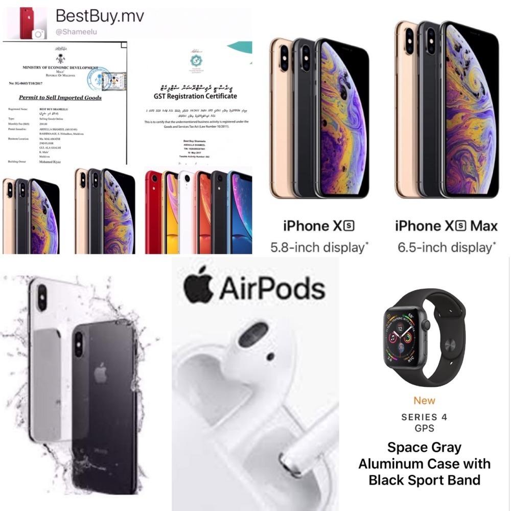 Apple Products iPhone X XS MAX 64GB 256GB Apple Watch Apple