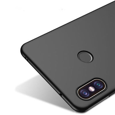 hot sale online a4e2f 773c9 Redmi Note 5 Pro AI, Shockproof Soft Silicone back cover - Black   iBay