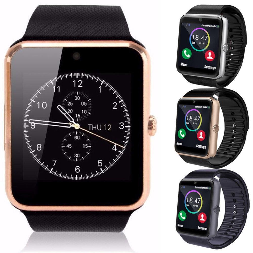 #2476 Waterproof GT08 Bluetooth Smart Watch Phone Mate For ...