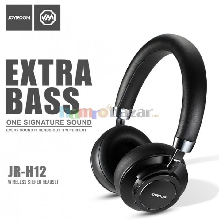 53a124534d6 JOYROOM JR-H12 EXTRA BASS BLUETOOTH HEADSET discounted till 31st march.  Report