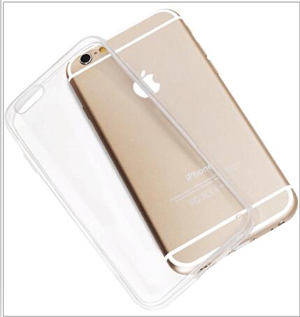detailed look 75c81 8e2ab iPhone 6, 6S & 6 Plus Transparent Ultra thin Transparent (TPU) Soft ...
