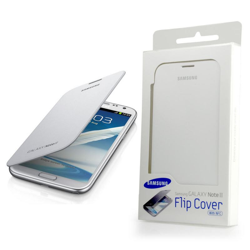 promo code 0af6b 844d9 Galaxy Note 2 Flip Case White Call: 7917053 | iBay