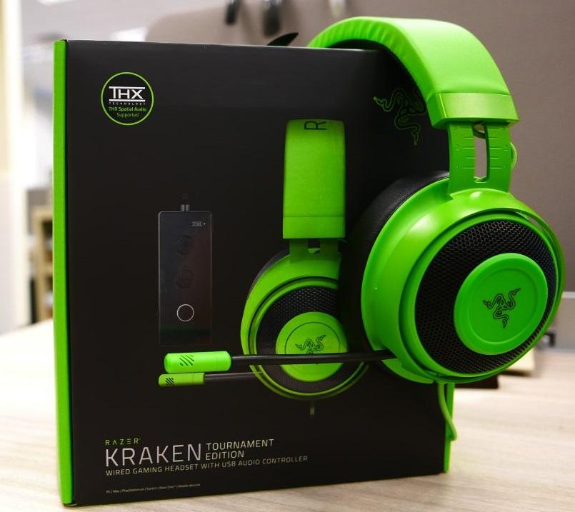Razer Kraken Tournament Edition: THX Spatial Audio - Full
