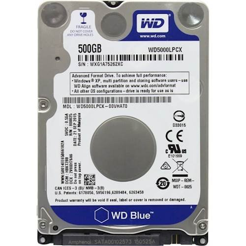 WD 500GB laptop hard Disk | iBay