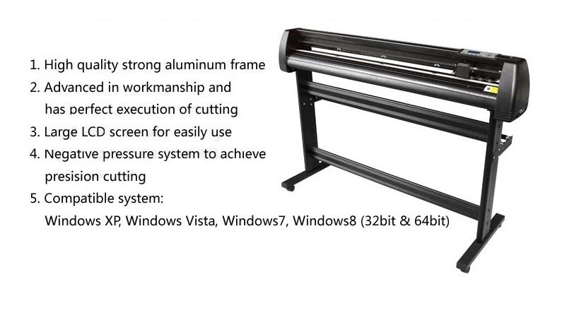 Heat Press Transfer Machine & vinyl printer sticker cutter