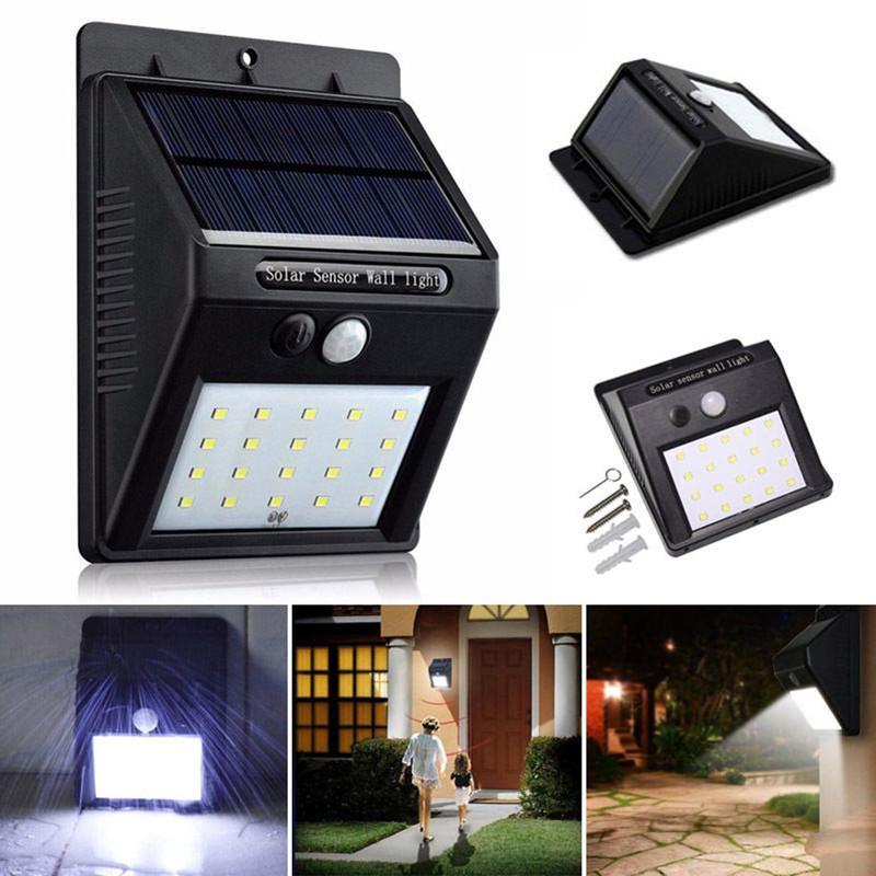 Solar Motion Sensor Light Call: 7776959,7583213 | iBay