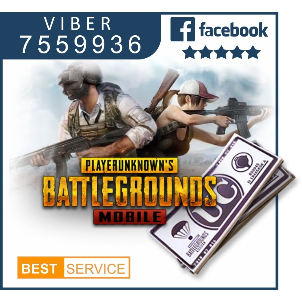 PUBG mobile iOS / Android device PUGB UC game cash transfer | iBay