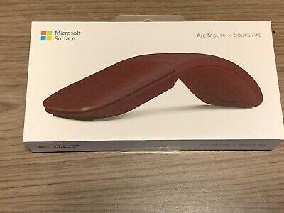 Microsoft CZV-00011 Surface Arc Mouse Bluetooth Burgundy