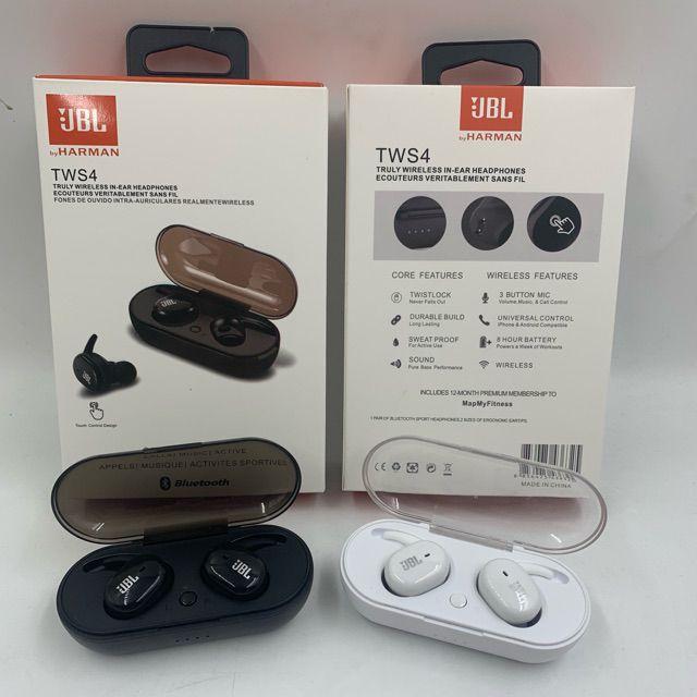 Tws 4 Jbl Touch 5 0 Binaural Call Wireless Bluetooth Headset Call 7666592 Ibay