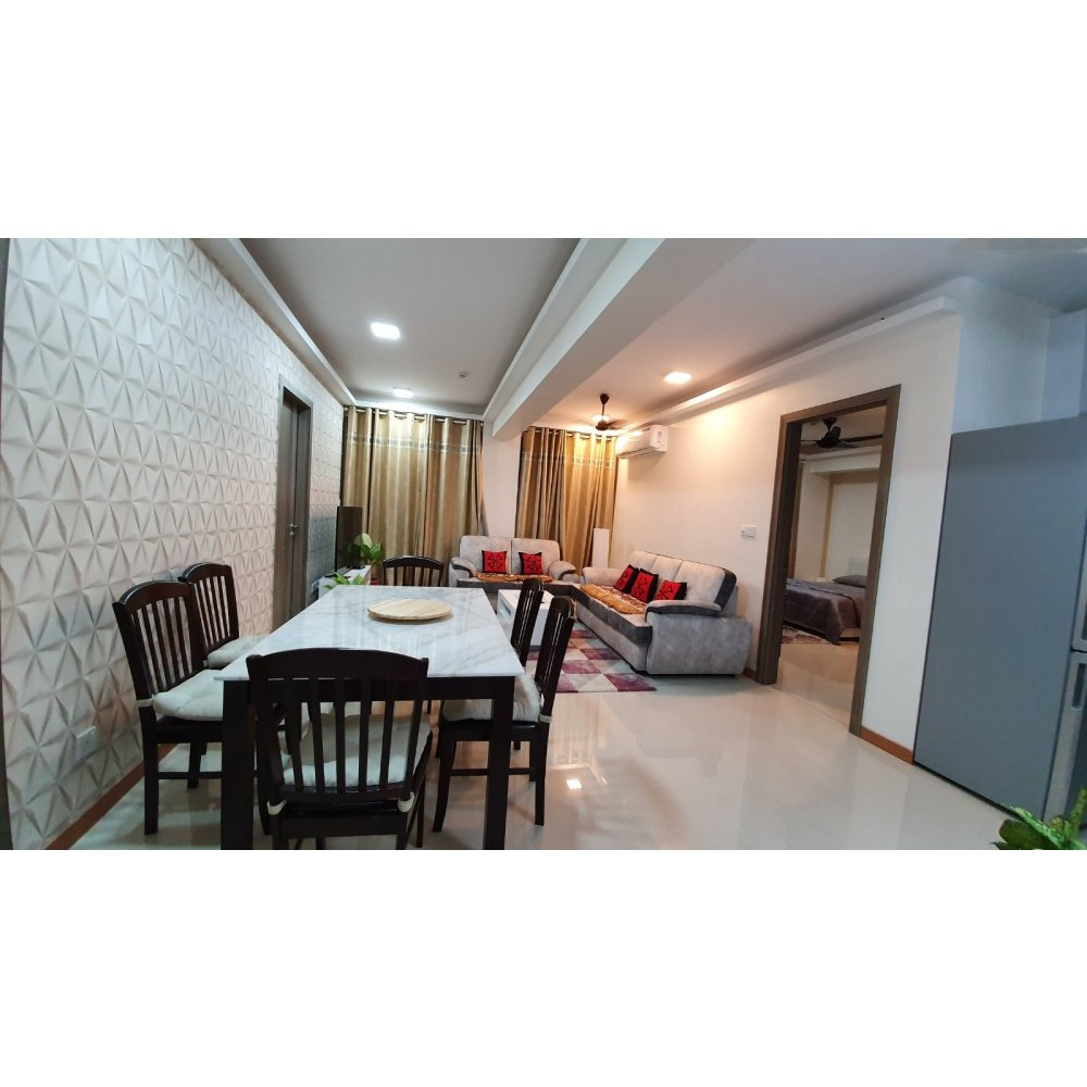 3 Bedroom Apartment Fully Furnished , Contact 7786441